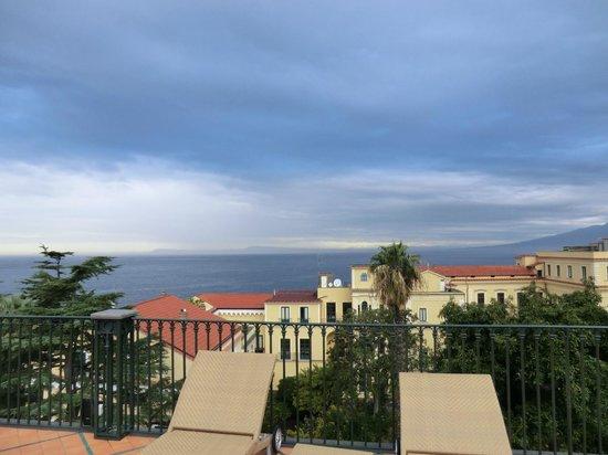 Grand Hotel La Favorita: View from roof top pool