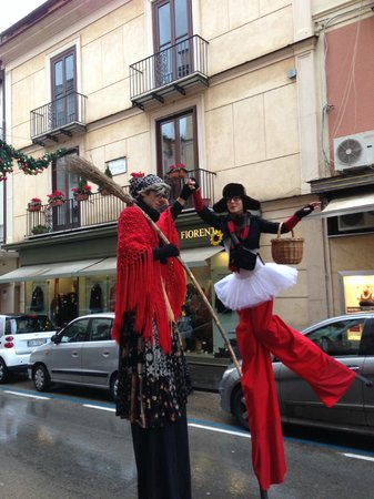 Grand Hotel La Favorita: Holiday traditions