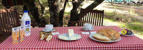 Retuerta del Bullaque, Spanyol: Desayunos ecolodge de Cabañeros.jpg