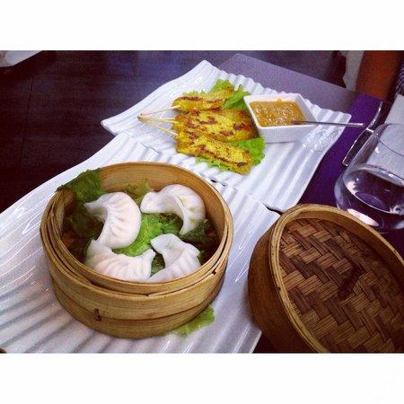 MIISHI Sushi Club: Dim sum with prawns