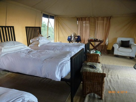 Chem Chem Safari Lodge : La tente des enfants