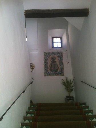 Parador de Guadalupe: Escaleras