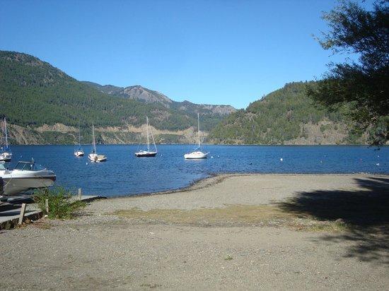 Cabañas Nonthue: lago lacar