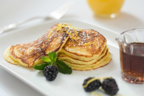 Saratoga Arms: Gourmet breakfasts