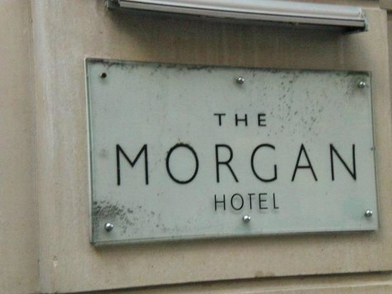 The Morgan: The hotel