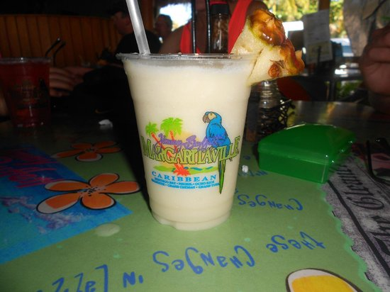Jimmy Buffett's Margaritaville: Mmmm, pina colada!