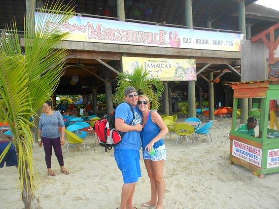Jimmy Buffett's Margaritaville: Love in front of Margaritaville