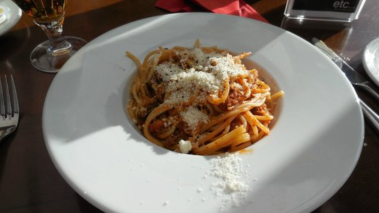 Etc Restaurant: Spaghetti with Chees!
