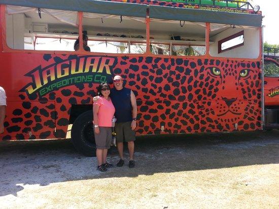 Costa Maya Cruise Excursions - Private Tours: Jaguar Bus