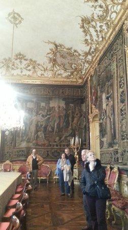 Palazzo Reale : sala aperta eccezionalmente al pubblico
