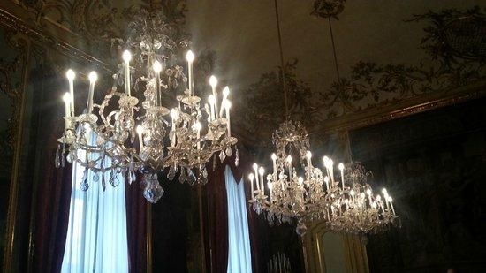 Palazzo Reale : lampadari