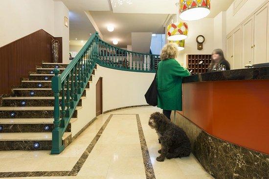 Recepción Hotel San Miguel