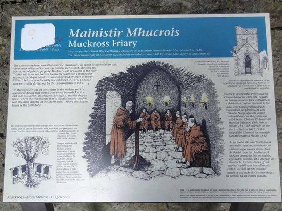 Muckross Abbey : описание