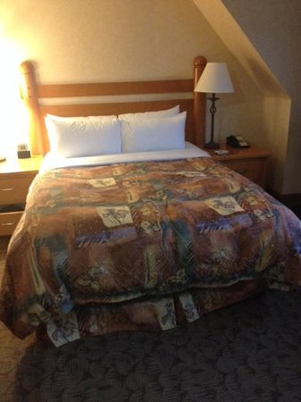 Banff Ptarmigan Inn: Ptarmigan - Bed