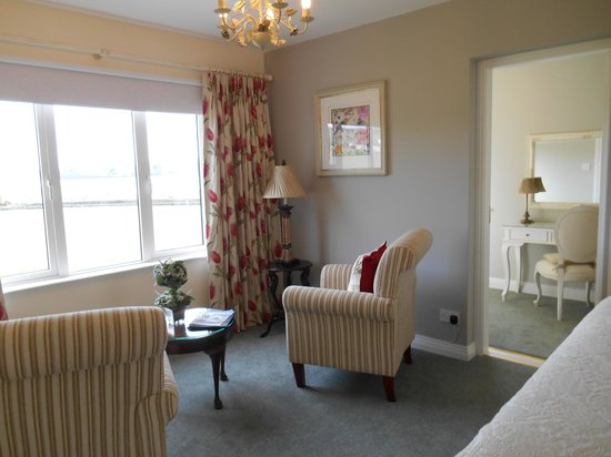 Bay View House Bed & Breakfast: Sitting area Room No. 5 - Superior Double/Twin