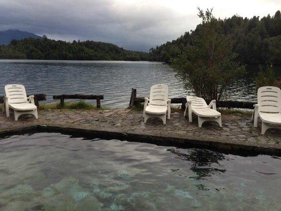 Puyuhuapi Lodge & Spa: piscina exterior