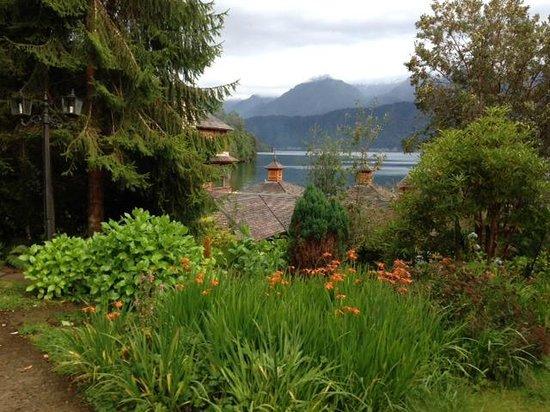 Puyuhuapi Lodge & Spa: jardines