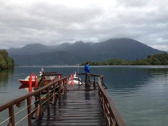 Puyuhuapi Lodge & Spa: entrada