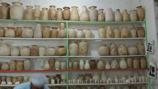 Tour Egypt Club - Private Day Tours: Alabaster pots/vases
