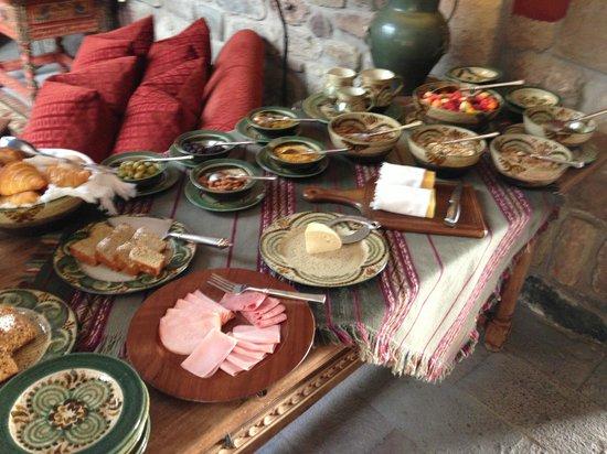 Inkaterra La Casona: Breakfast buffet