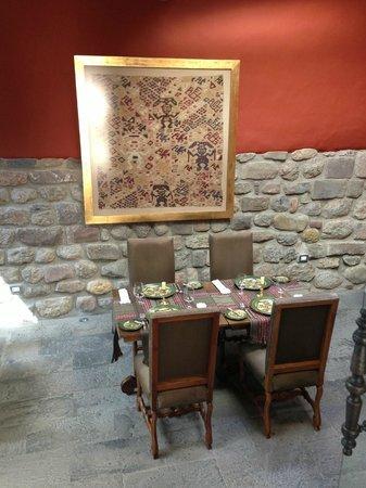 Inkaterra La Casona: Dining area
