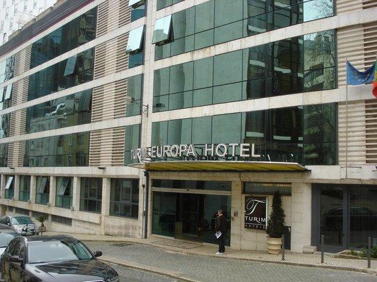 Turim Europa Hotel: Entrée