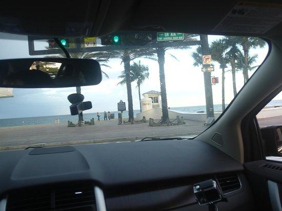 Las Olas Boulevard: Praia