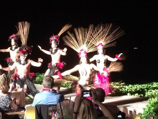 Feast At Lele : Tahitian Dancers at Lele