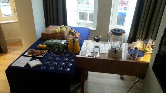 Swissotel Amsterdam: Healthy breakfast workshop