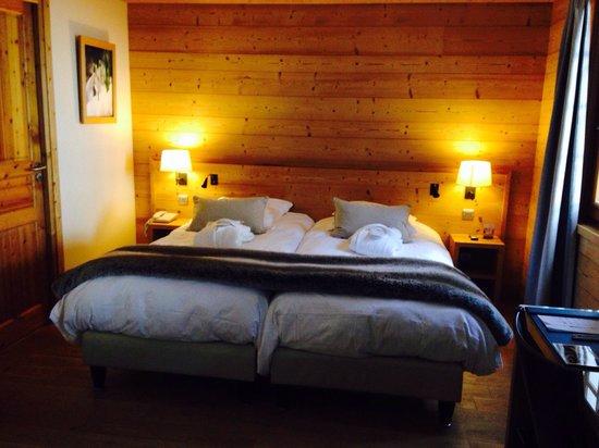 Hotel - Restaurant Fleur de Neige: Magnifique chambre