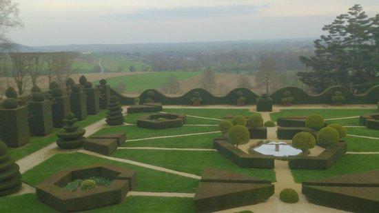 Château de la Ballue : Parte del jardín principal
