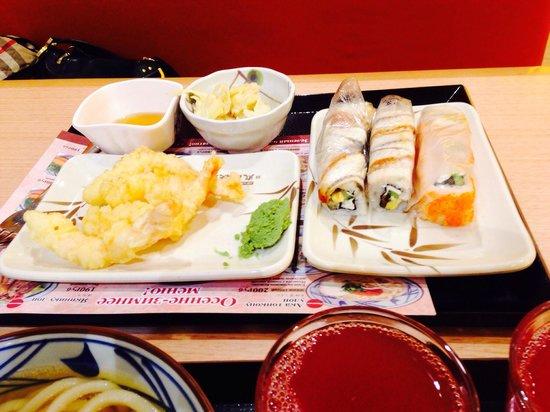 Marukame: Креветки, суши....