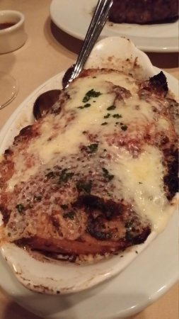 Republic of Texas Bar & Grill: Au gratin potatoes (like heaven!)
