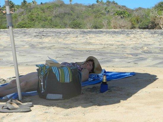 Hacienda de la Costa : Private Beach