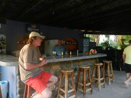 Hacienda de la Costa: Steve's bar