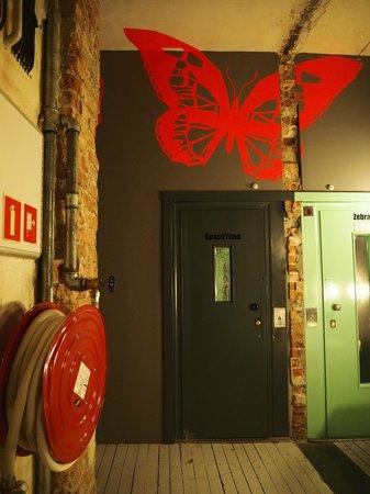 Sen Pszczoly Loft Hotel : 部屋の入り口