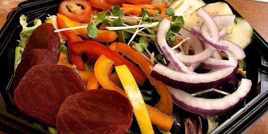 The Sandwich Bar: Yummy salads