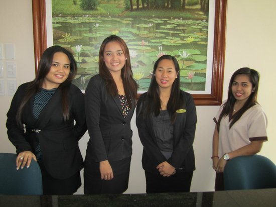 Main Hotel And Suites Front Desk Staff