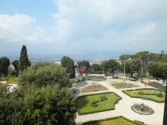 Villa Tuscolana Park Hotel : Giardini