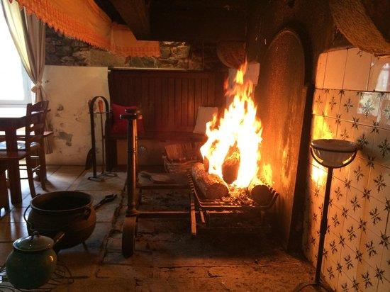 Ferme Ostalapia : Feux de cheminée