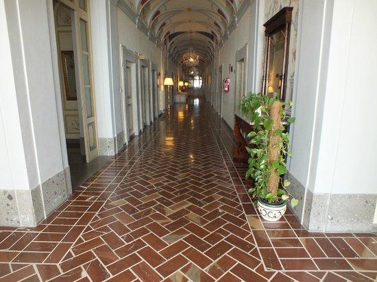 Grand Hotel Villa Tuscolana: Corridoio