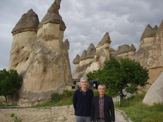 Fairy Chimneys at the Pasabag Valley in Kapadokya