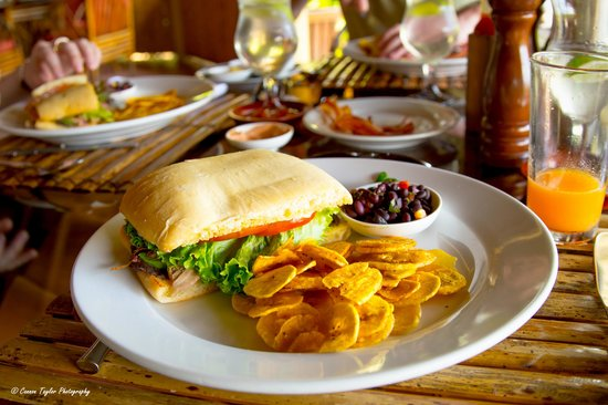 Lapa Rios Ecolodge Osa Peninsula : Lunch