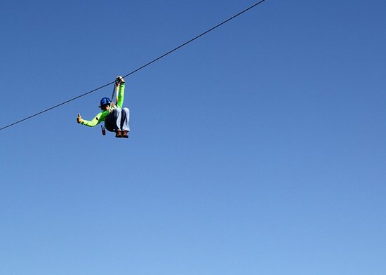 Air Donkey Zipline in Davis