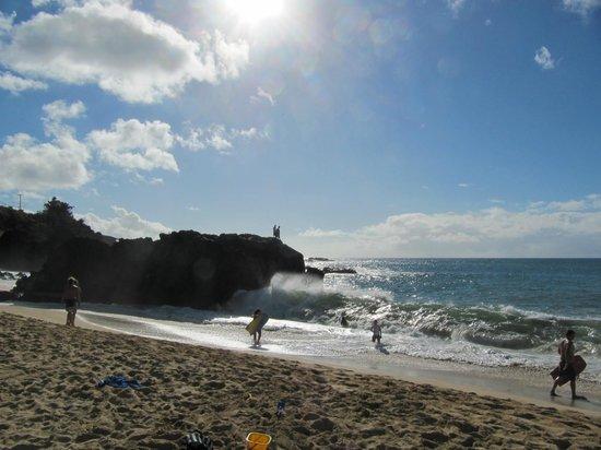 Waimea Bay: big waves
