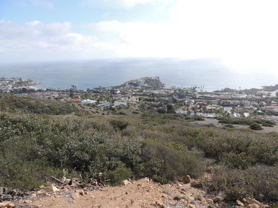 Crystal Cove State Park: View from the top of hiking trail
