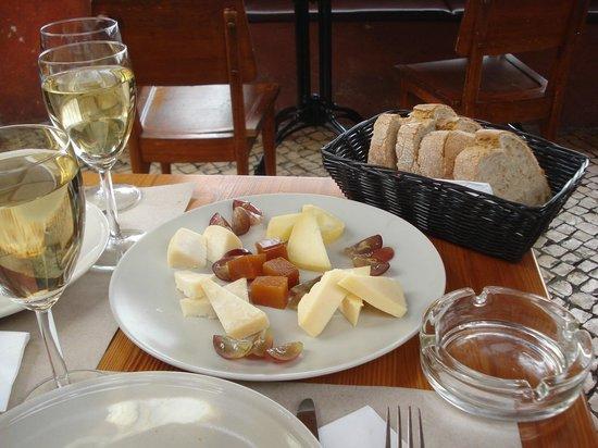 Chapitô à Mesa : Assiette de Fromages