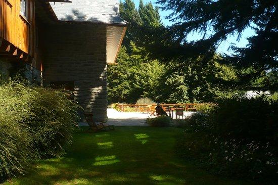 Hotel Tunquelen: Contemplando el paisaje, junto al canto de los pájaros