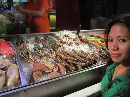 Turtle Inn Resort : fresh seafood