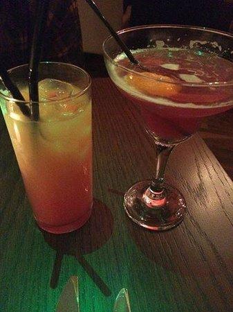 MAZE Restaurant: Tequila Sunrise & Cosmo